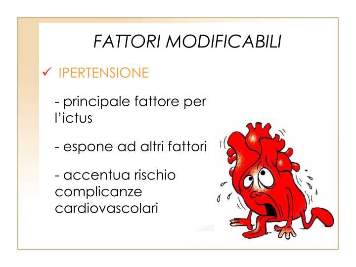 FATTORI MODIFICABILI
