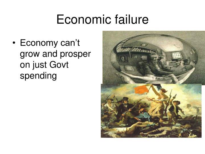 Economic failure