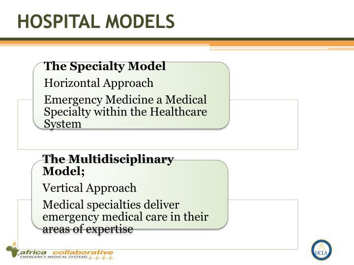 Hospital models