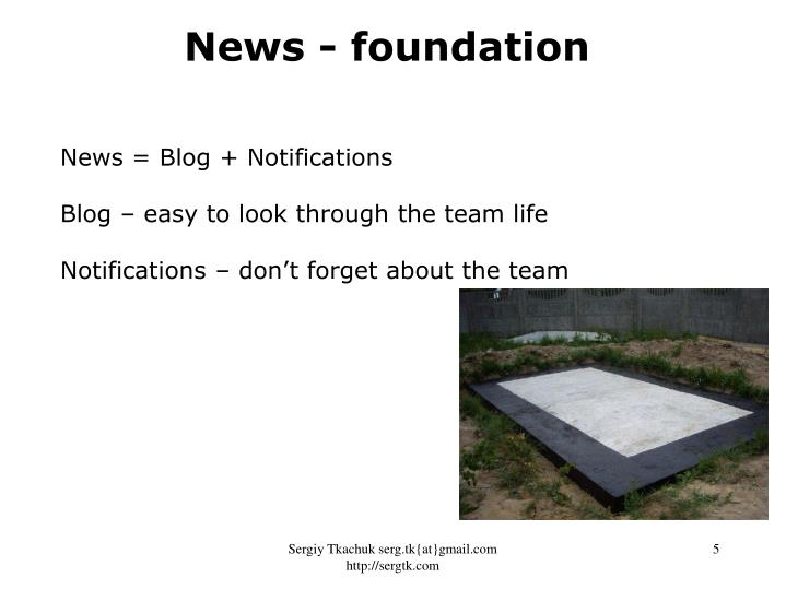 News - foundation