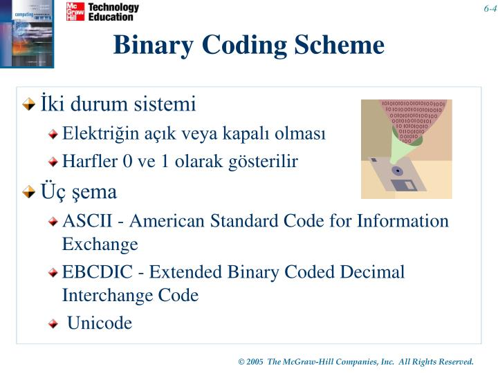 Binary Coding Scheme