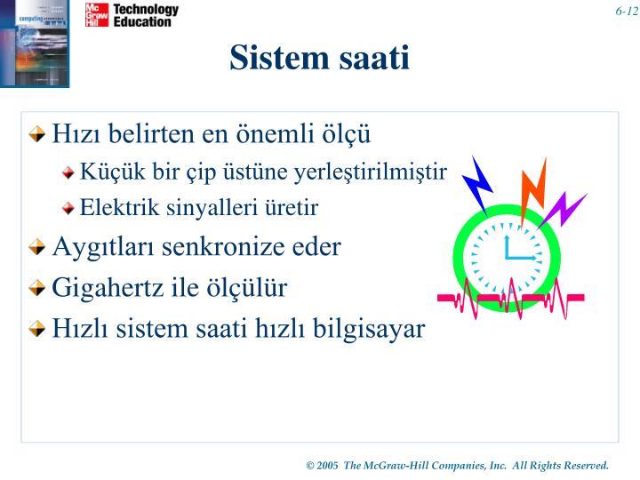 Sistem saati