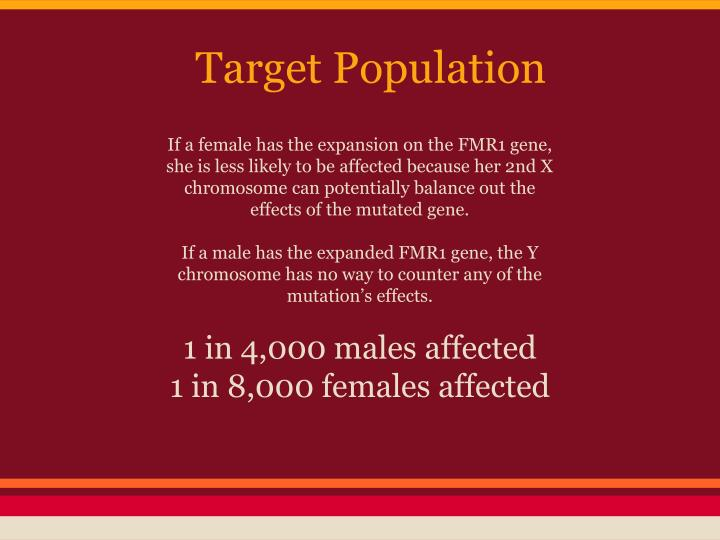Target Population