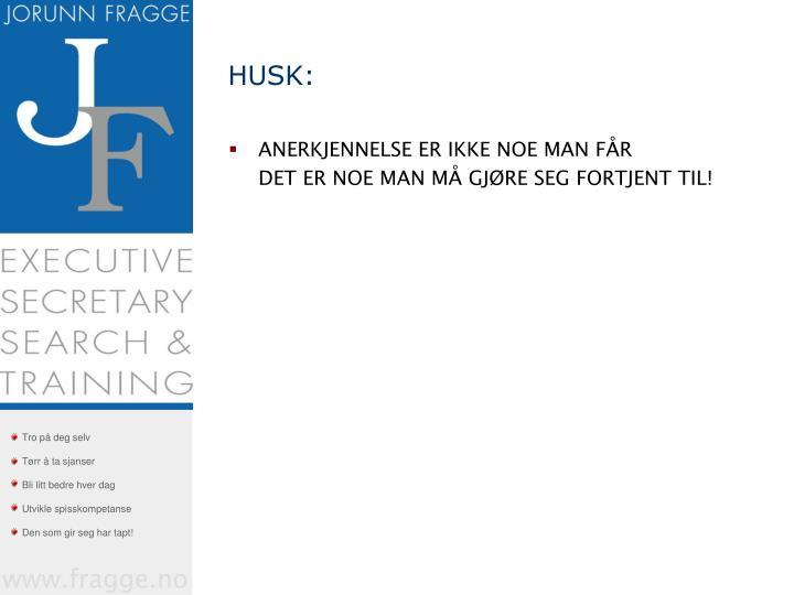HUSK: