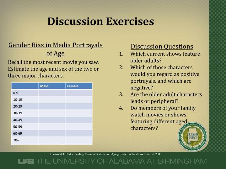 Discussion Exercises