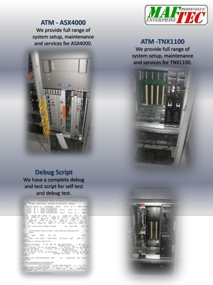 ATM - ASX4000