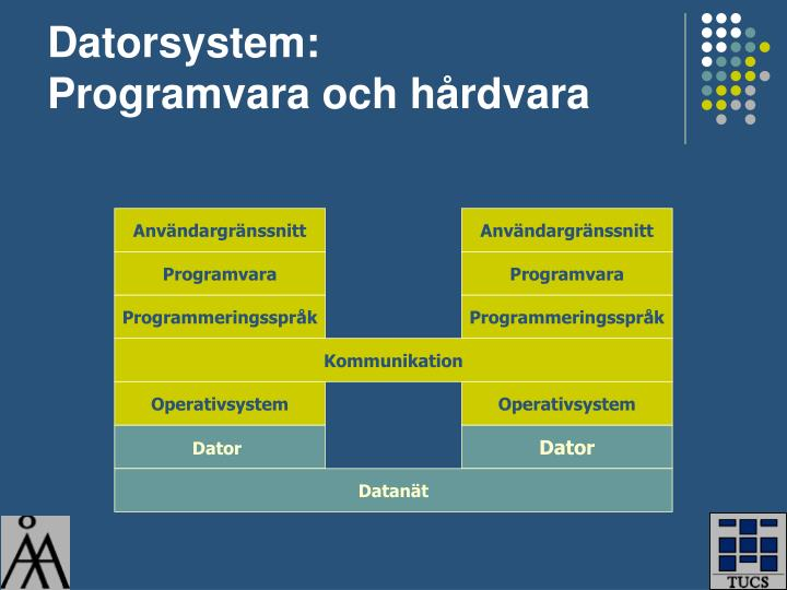 Datorsystem: