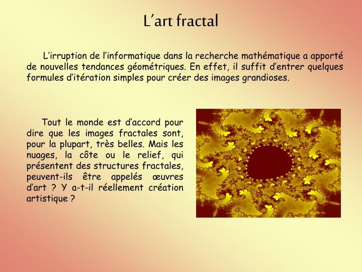 Lart fractal