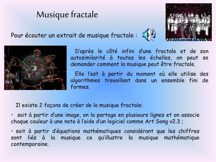 Musique fractale