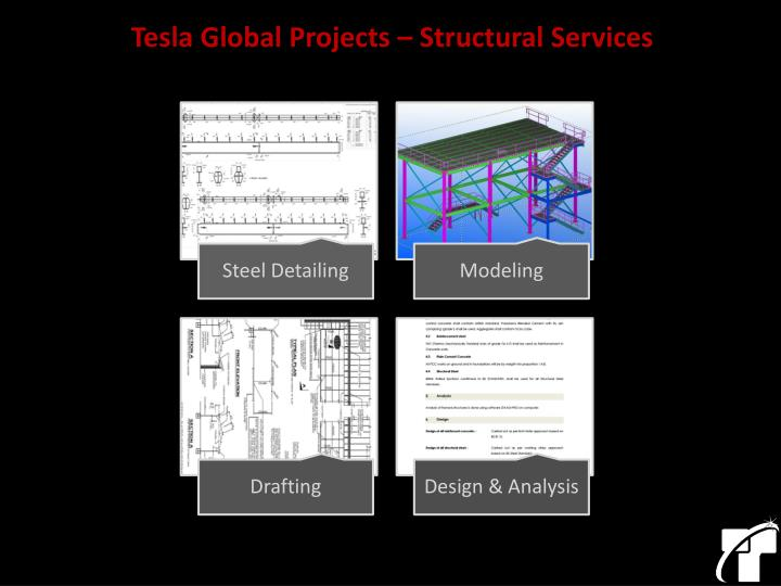 Tesla Global Projects – Structural Services