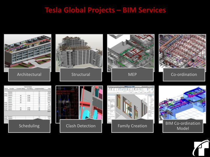 Tesla Global Projects – BIM Services