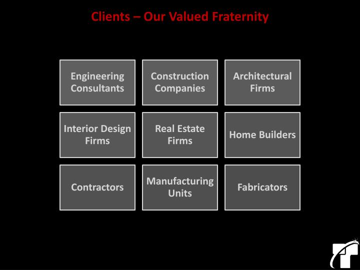 Clients – Our Valued Fraternity