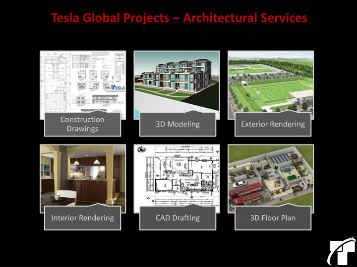 Tesla Global Projects – Architectural Services