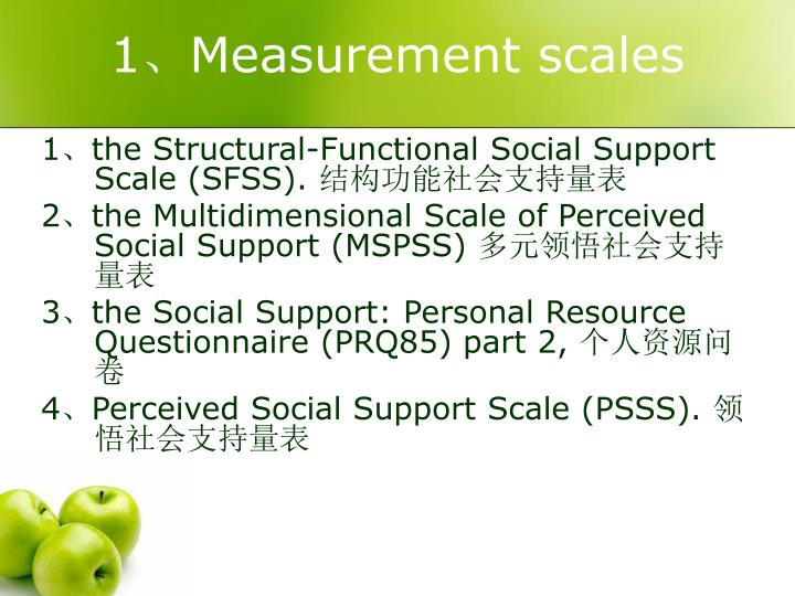 1 measurement scales