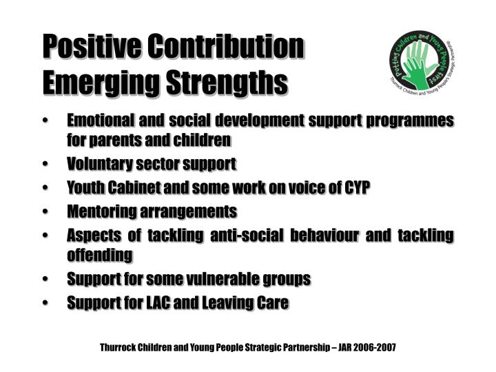 Positive Contribution