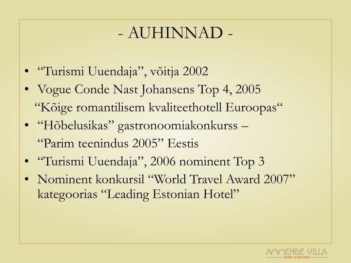 - AUHINNAD -