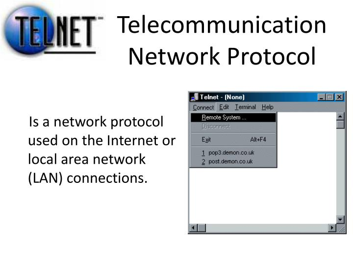 Telecommunication Network Protocol
