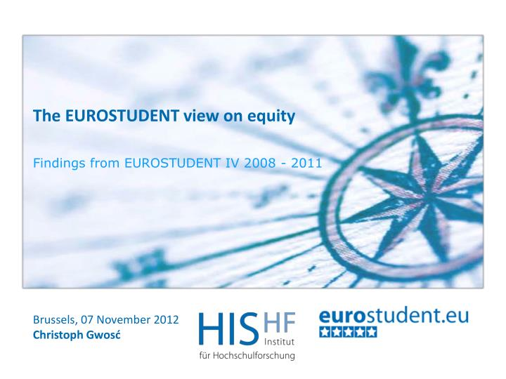 The EUROSTUDENT view on equity