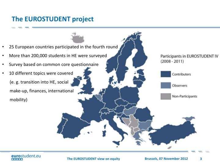 The EUROSTUDENT project