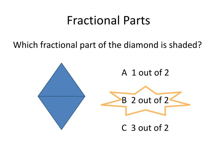 Fractional parts1