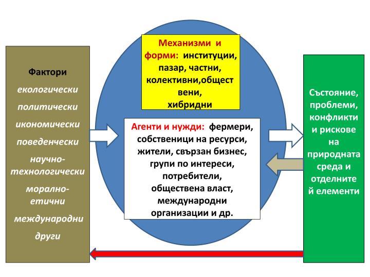 Механизми  и форми: