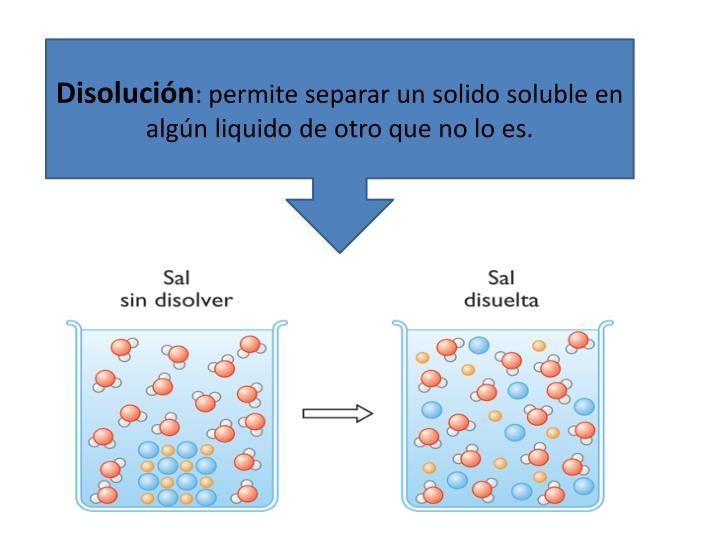 Disolución