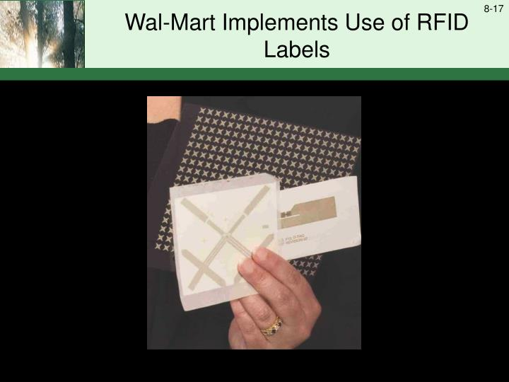 Wal-Mart Implements Use of RFID Labels