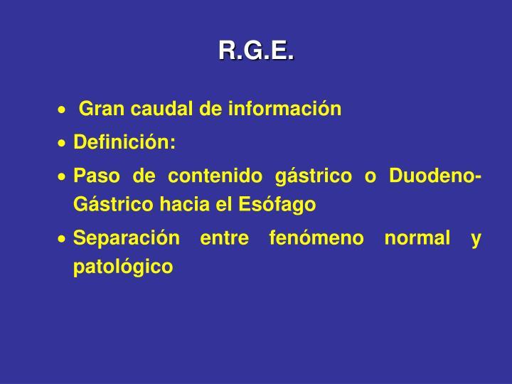 R.G.E.
