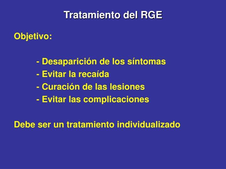 Tratamiento del RGE