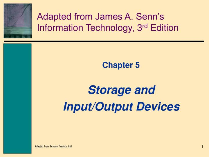 Adapted from james a senn s information technology 3 rd edition