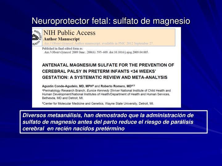 Neuroprotector