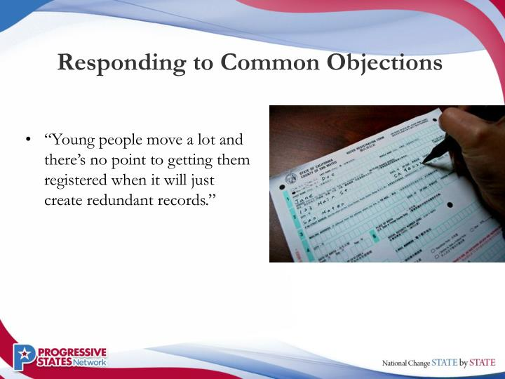 Responding to Common Objections