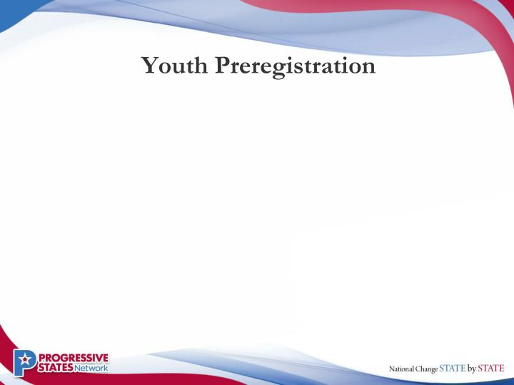 Youth Preregistration