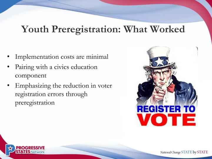 Youth Preregistration: What Worked