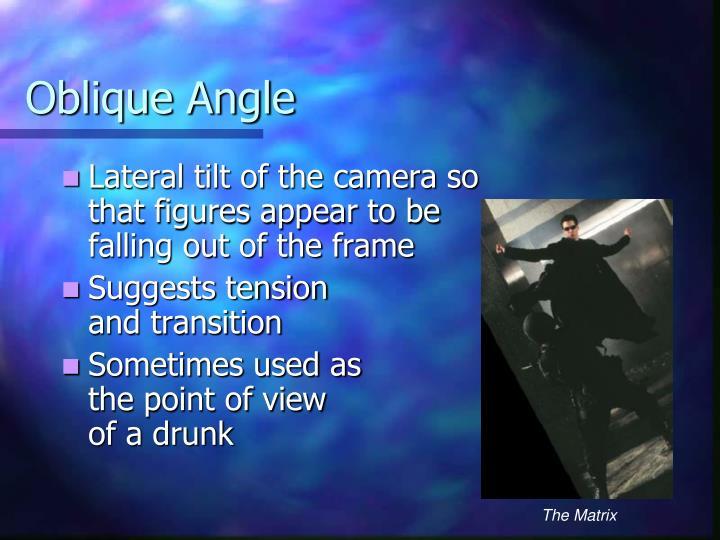 Oblique Angle
