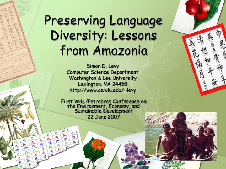 Preserving language diversity lessons from amazonia