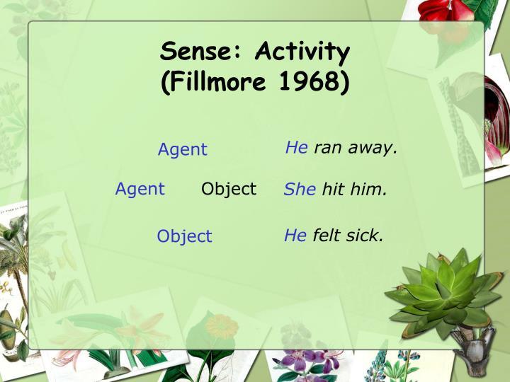 Sense: Activity