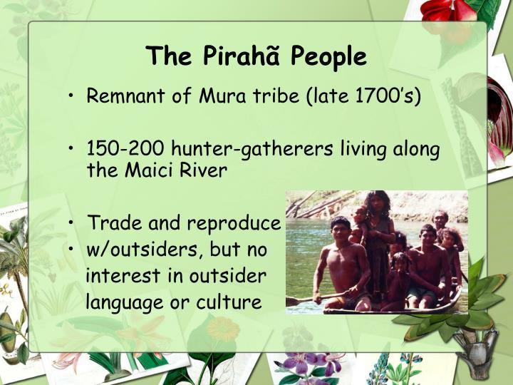 The Pirahã People