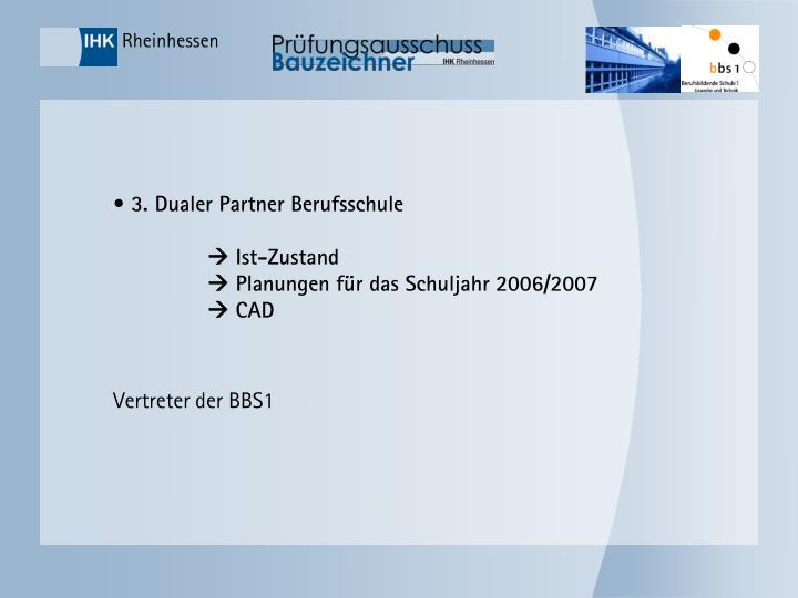 3. Dualer Partner Berufsschule