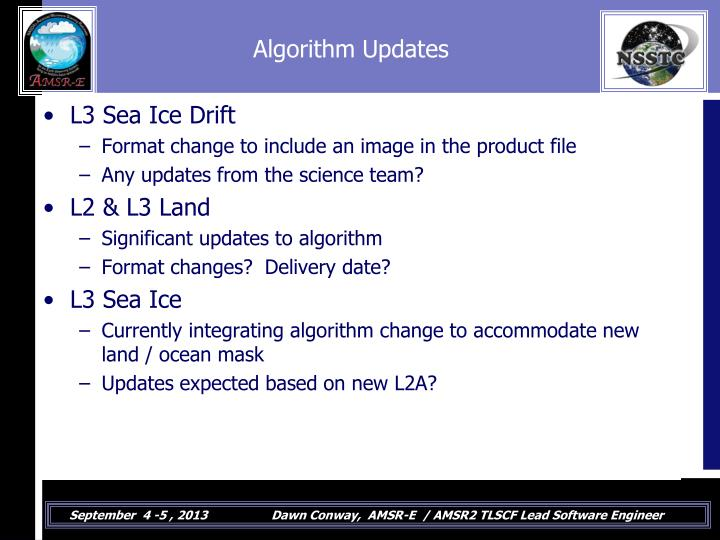 L3 Sea Ice Drift
