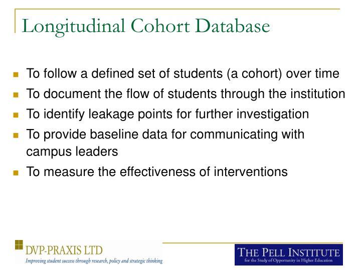 Longitudinal Cohort Database