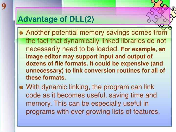 Advantage of DLL(2)