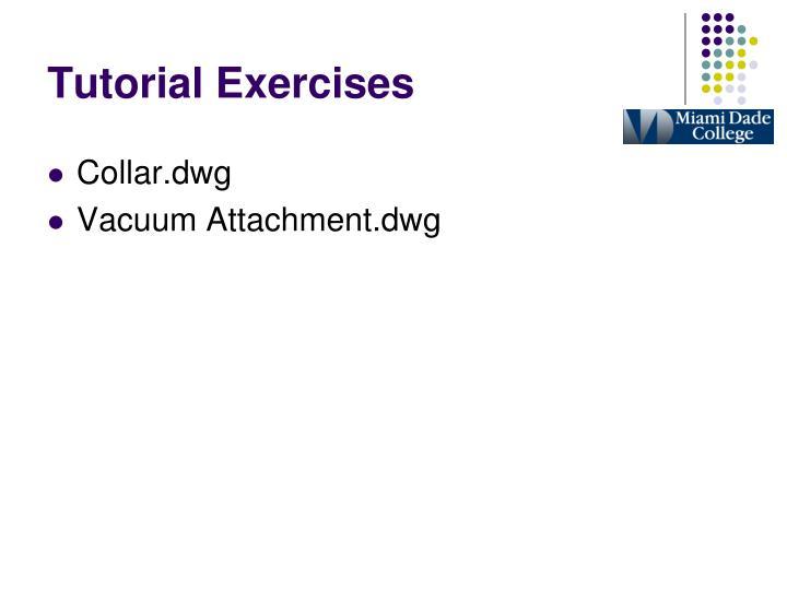 Tutorial Exercises