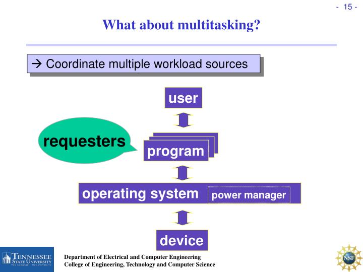 What about multitasking?