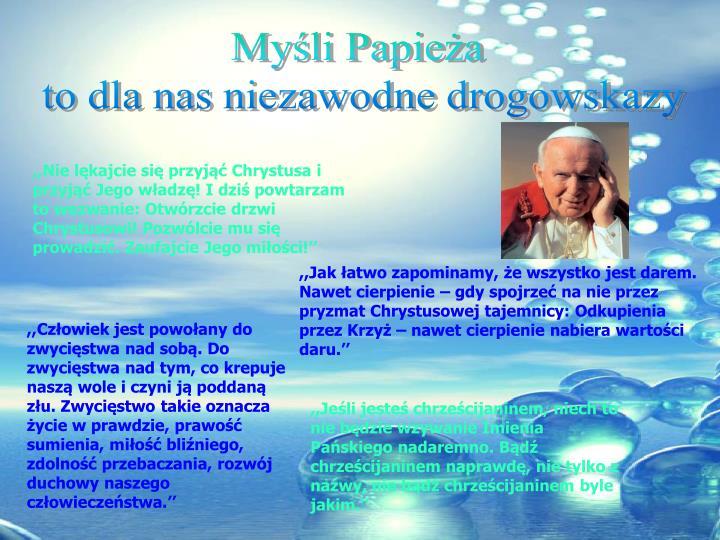Myśli Papieża