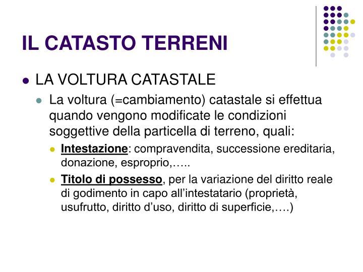 Ppt il catasto powerpoint presentation id 6356393 - Successione catasto ...