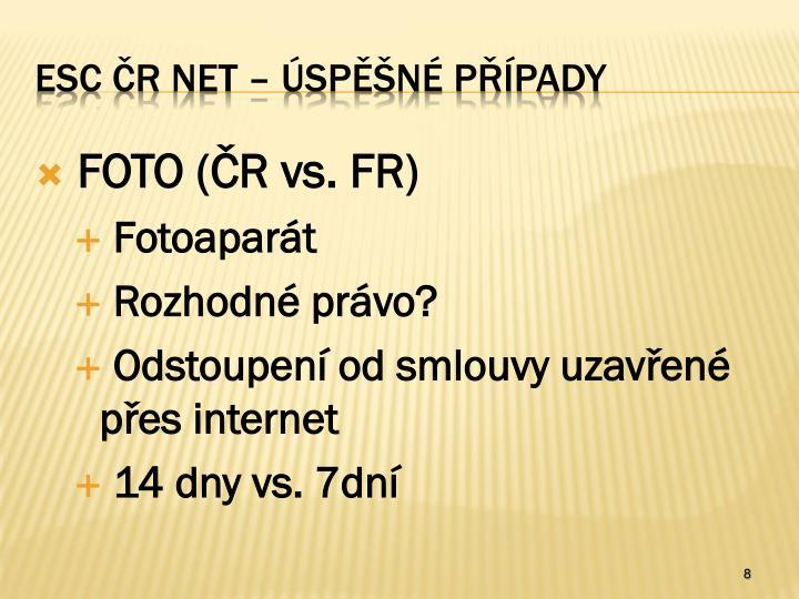 FOTO (ČR vs. FR)