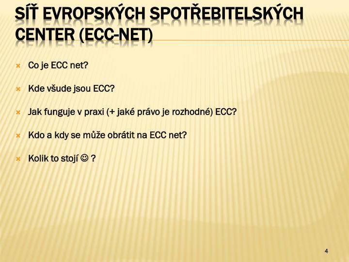 Co je ECC net?