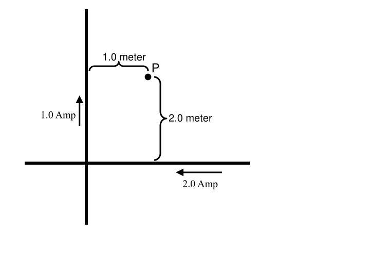 1.0 meter