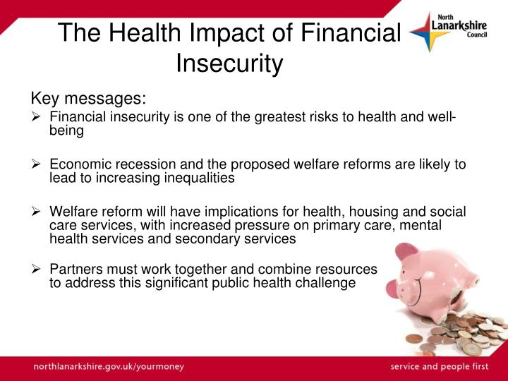 The Health Impact of Financial Insecurity